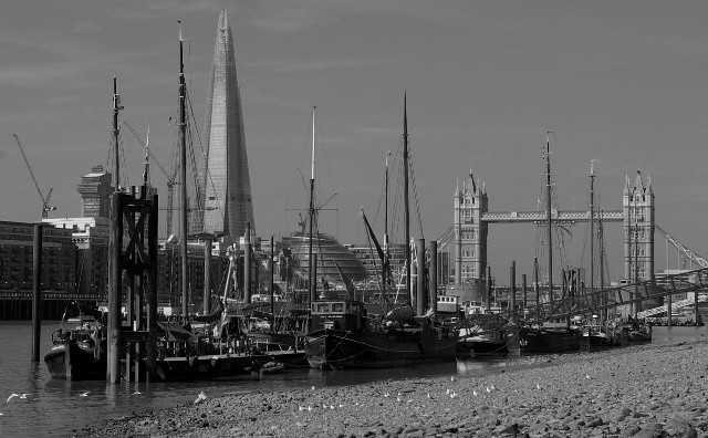 Thames Shoreline at Wapping